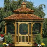 12' PT Octagon Victorian Gazebo w/ Optional Cedar Shakes & Screens