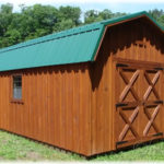 12'x20' Dutch Barn w/ optional 'Cedar' stain