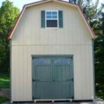Duratemp 14'X24' 2 Story Gambrel Shed