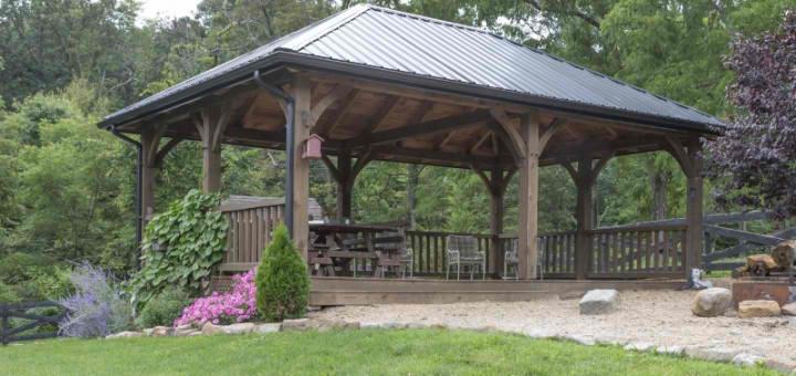 Pergolas Pavilions The Barn Raiser