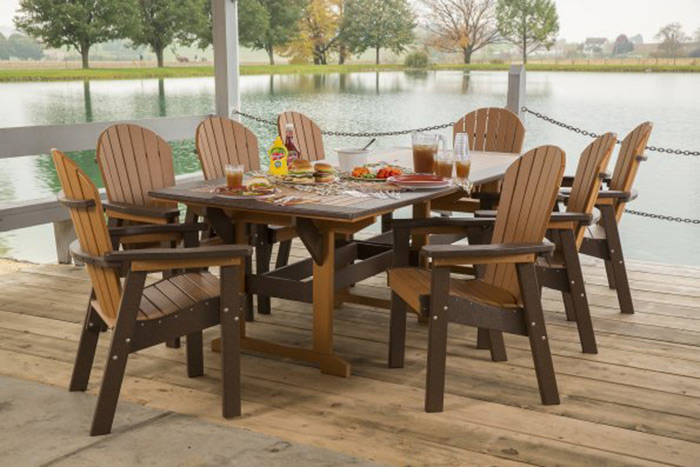 Bon Competitoru0027s Poly. Poly Outdoor Furniture ...