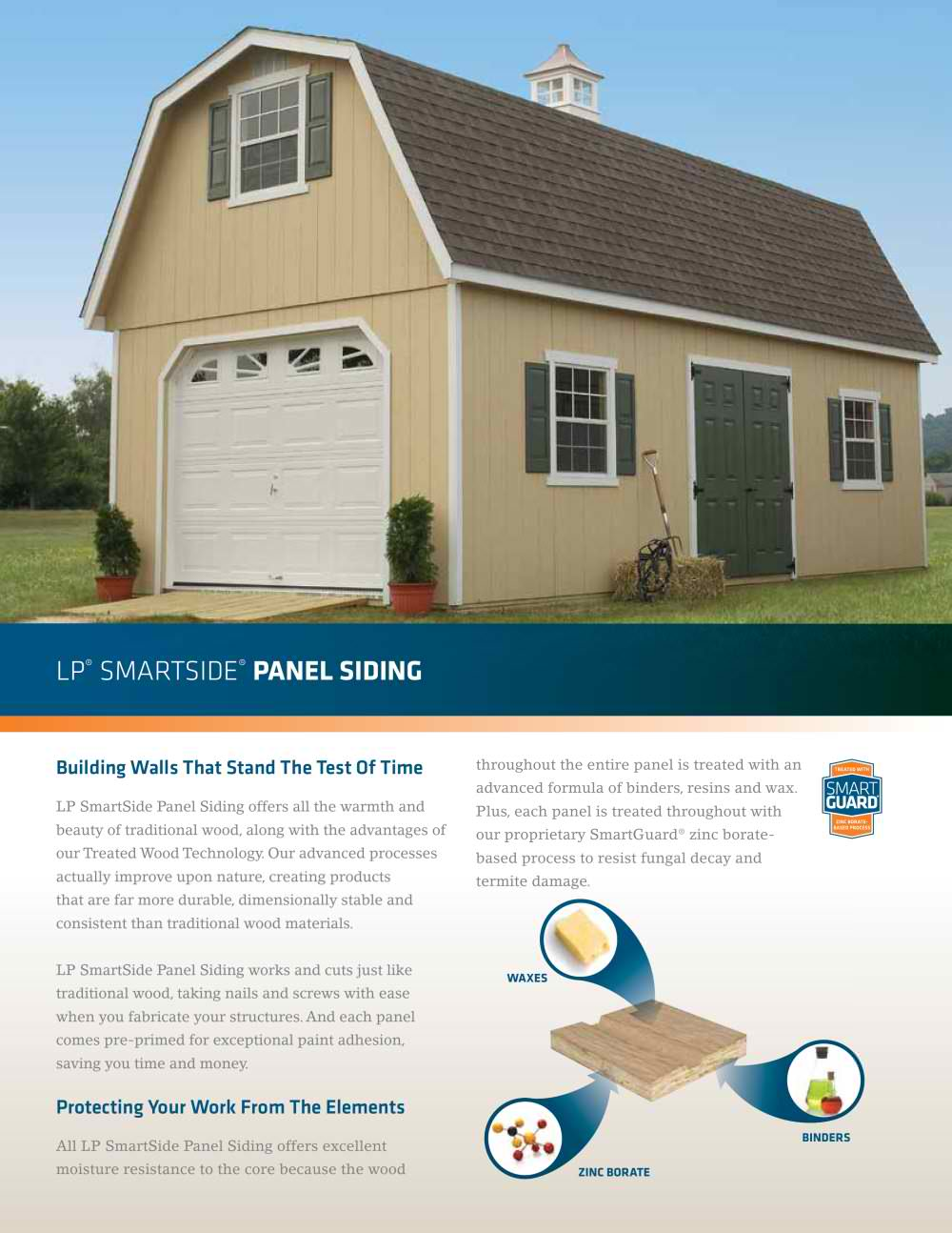 Lp smartside colors great diamond kote catalog with lp for Lp smartside prefinished siding reviews