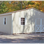 20'x24' Duratemp Double-Wide Shed