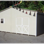 24'x20' Duratemp Double-Wide Shed