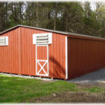 24'x40' Duratemp Double-Wide Shed