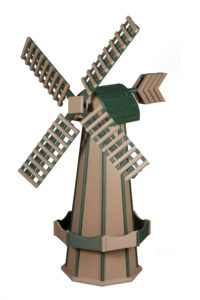 5' Wooden Windmill
