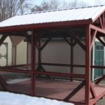10'x12' Custom A-Frame Screenhouse