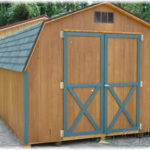 Duratemp 10'x14' 4' Wall Mini Barn