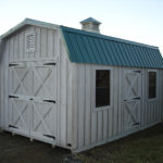 Board & Batten 10'x14' Dutch Barn w/ Optional Cupola