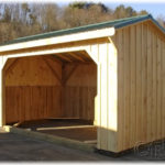 10'x16' Run-In Shed