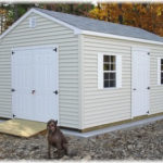 Vinyl 10'x16' 7½' Wall Cottage