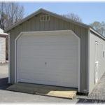 Duratemp 12'x24' A-Frame 1-Car Garage