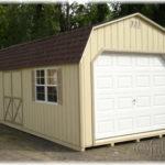 12x28 Duratemp Dutch Barn 1-Car Garage