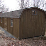Board & Batten 12'x30' Dutch Barn w/ Optional Ins. Windows