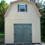 Duratemp 14'x24' 2-Story Gambrel Shed