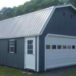 20'x24' Duratemp Super Barn Garage w/ Upgraded 16'x7' Garage Door