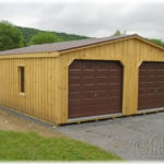 24'x24' Board & Batten Garage