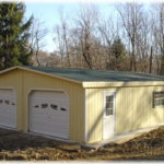 28'x40' Duratemp Floorless Garage