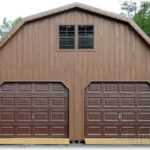 Duratemp 24'x32' 2-Story 2-Car Garage w/ Gambrel Roof