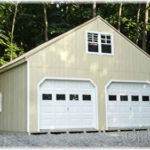 Duratemp 24'x24' 2-Story 2-Car Garage