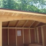 Cedar 5'x8' Custom Wood Shed