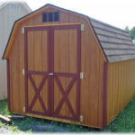 Duratemp 8'x10' 4' Wall Mini Barn