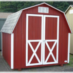 Duratemp 8'x8' 4' Wall Mini Barn