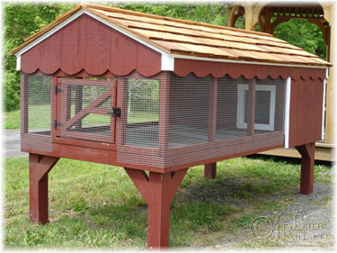 4'x8' Custom Duratemp Rabbit Hutch