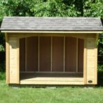 Cedar 5'x8' Custom Wood Shed