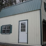Duratemp 12'x24' 2-Story Gambrel Garage
