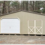 Duratemp 24'x28' Double-Wide Shed