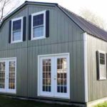 Duratemp 24'x24' 2-Story Gambrel w/ Optional French Doors & Ins. Windows