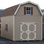 Duratemp 12'x24' 2-Story Gambrel Single Wide Shed