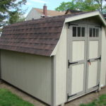 Duratemp Premier 8'x12' 4' Wall Mini Barn