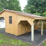Board & Batten Custom Garden Structure