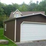 Duratemp 20'x20' A-Frame Garage w/ Optional 16'x7' Garage Door