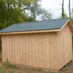 Board & Batten 10'x14' A-Frame w/ Custom Shingles