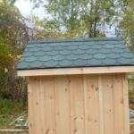 Board & Batten 5'x5' A-Frame w/ Custom Shingles