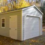 Hardi Plank 12'x20' A-Frame Garage