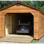 Cedar 12'x24' A-Frame 1-Car Garage