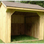 10'x10' Run-In Shed w/ optional asphalt shingles