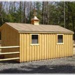 Board & Batten 10'x18' Stall-Barn w/ Tack