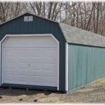 Duratemp 12'x40' Dutch Barn 1-Car Garage