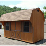 Duratemp 8'x14' Dutch Barn Quaker (Dutch Barn w/ 2ft. Overhang)