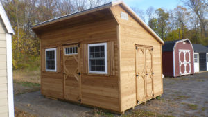 10x14 Custom Cedar Lean To Shed