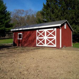 10x24 Stall Barn
