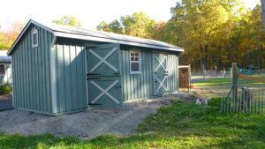 10x24 Stall Barn w Tack
