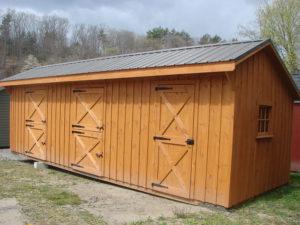 10x30 Stall Barn