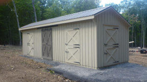 10x32 Stall Barn