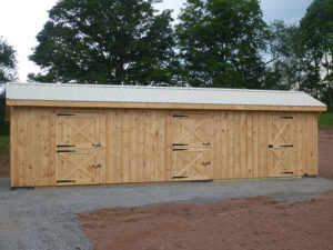 10x34 Stall Barn